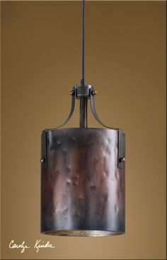 Uttermost Akron 1 Light Copper Mini Pendant