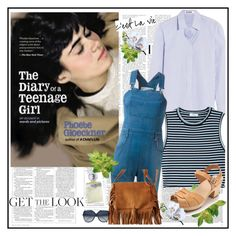 """Get the Look: The Diary of a Teenage Girl♥♥♥"" by marthalux ❤ liked on Polyvore"