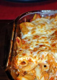 Italian Sausage Baked Pasta - My family loves this...must make again soon.