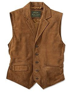 Orvis Men's Cfo Sueded Lapel Vest, Medium Orvis ++ You can get best price to buy this with big discount just for you. Gilet Costume, Style Masculin, Country Wear, Revival Clothing, Leather Vest, Work Wear, Menswear, Mens Fashion, Fashion Guide