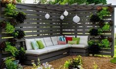 Il est temps de décorer le jardin! Voici les 10 plus belles idées, pour un décor en coin!
