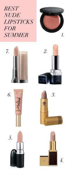 Best Nude Lipsticks of the Season