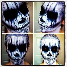Evil Demon; Halloween Makeup Tutorial.