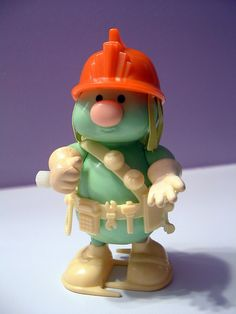 Fraggle Rock Doozer, I'm fairly sure I have one of these in a box in my attic! 80s Kids, Kids Tv, Fraggle Rock, Jim Henson, Vinyl Toys, Ol Days, Childhood Memories, 1980s Childhood, Good Ol