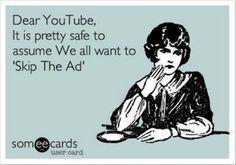 Dear You Tube,