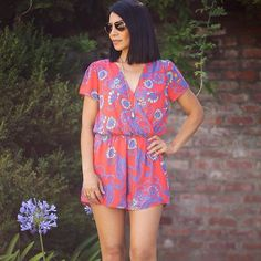 Our Samara romper is one of my favorites! It's also part of our 40% off end of…