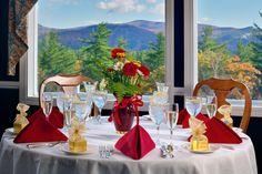 White Mountain Hotel and Resort in North Conway, NH http://www.restaurantweeknh.com/restaurants/ledges-restaurant-at-the-white-mountain-hotel/