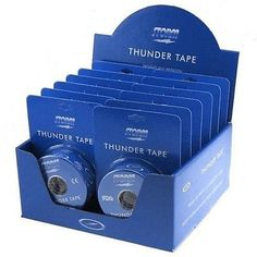 Accessories 50812: Storm Thunder Tape Bowling Thumb Tape 12 Rolls Blue -> BUY IT NOW ONLY: $97.95 on eBay!