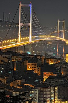 Istanbul Bosphorus  - Turkey - by Doğan  Gözükara on 500px www.facebook.com/loveswish