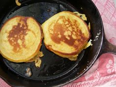 Pumpkin Pancakes - Ever wonder what to do with the leftover pumpkin from your other baking projects? - Nest of Posies Pumpkin Chocolate Chip Muffins, Pumpkin Pancakes, Best Pumpkin, Pumpkin Pie Spice, Leftovers Recipes, Cooking On The Grill, Serious Eats, Foods With Gluten
