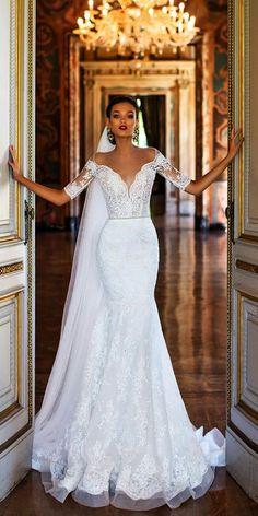 83d73e03536 Get this - gt  Lace Wedding Dresses 2018  pinterest Illusion Wedding Dresses