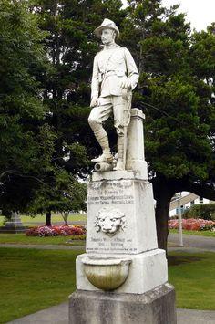 Military Art, Military History, War Memorials, Remember The Fallen, Albert Park, Historical Pictures, Union Jack, New Zealand, Sculptures