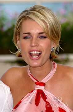 Actress REBECCA ROMIJN-STAMOS at the Cannes Film Festival to promote her new movie Femme Fatale. 25MAY2002. Paul Smith / Featureflash