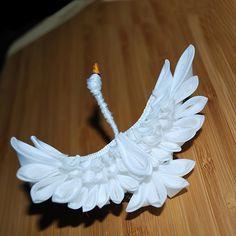 Take Flight. Swan Tsumami Zaiku.