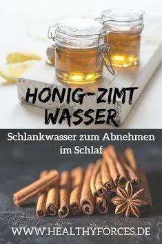Mit Honig-Zimt-Wasser abnehmen: Trinke dieses Schlankwasser jeden Abend vor dem Schlafengehen und morgens auf nüchternen Magen. Es regt die Fettverbrennung an und reguliert die Verdauung. Lies hier das Rezept.
