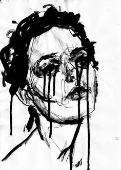 Jakub Czyz, charcoal sketch and india ink on paper, 2013.