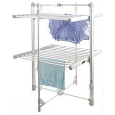 Dry:Soon 2-Tier Heated Tower Airer in clothes horses and airers at Lakeland