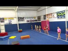"""The Lilly Pad Game (Gymnastics/Fitness/Kids/Games) don't like the out"""" - but alternatively the last one has to do a plank, wall sit etc until next round Gymnastics Games, Gymnastics Warm Ups, Gymnastics Academy, Gymnastics Birthday, Gymnastics Coaching, Gymnastics Lessons, Gymnastics Stuff, Cheer Games, Relay Games"""