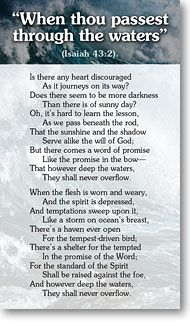 mwtb.org-Tracts :: Choice Poems :: When Thou Passest Through the Waters