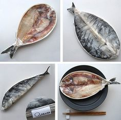 Pencil case of dried fish