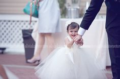 Baby Flower Girl Dress by OliviaKateCouture on Etsy, $109.95 too adorable!!!! Think I need to put my baby girl in this!!!!
