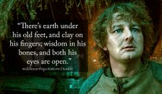 - Tom Bombadil about Farmer Maggot, The Fellowship of the Ring, Book I, In the House of Tom Bombadil