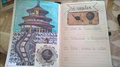 bullet journal - à visiter... tout ce que tu as envie de faire dans l'année sur une page (ou plusieurs ;-) !)