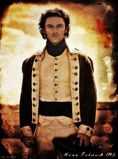 Aidan Turner as Captain Ross Poldark