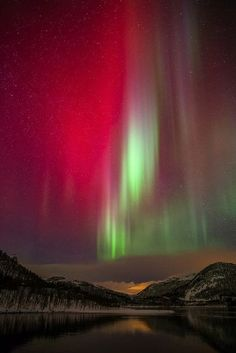 Aurora borealis - Norway (would they be in Sweden as well?)