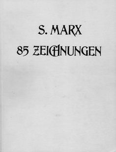 Stefan Marx - 85 Zeichnungen