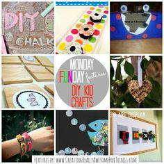 Monday Funday DIY Kid crafts