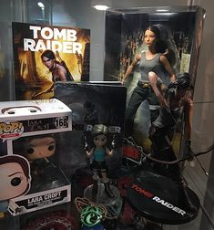 Hope you dont mind me sharing my nerd collection on here. This is my very small Tomb Raider collection that I have displayed in my office. I grew up playing this series and its one of my favorites. Between Lara Croft and Indiana Jones I always dreamed of being an adventurous archaeologist when I grew up. I wish I had more pieces of classic Lara from the older games from my childhood. Although I do love the rebooted Lara and am beyond excited to see the movie next week! Cant wait to see what…