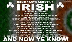 Fun facts but us Irish ; Irish Memes, Irish Quotes, Irish Sayings, Irish Humor, Irish Proverbs, Irish Language, Irish American, American Women, American Art
