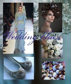 """""""Wedding blues"""" by cocolavieenrose ❤ liked on Polyvore"""