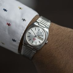 Omega Seamaster for Turkish Railways Omega Seamaster Automatic, All Stainless Steel, Vintage Omega, Omega Watch, Watches, Accessories, Clocks, Wristwatches, Jewelry Accessories