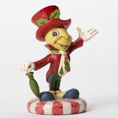 Disney Traditions Jiminy Cricket on Peppermint