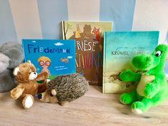 Drei empfehlenswerte Bilderbücher zum Vorlesen für Kindergartenkinder, in denen es darum geht, sich zu überwinden und mutig zu sein, Perfekt auch als Weihnachtsgeschenk.