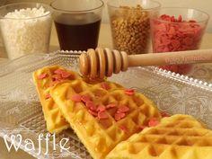 Waffle -ricetta passo a passo-