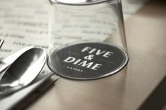 Five and Dime Restaurant Branding