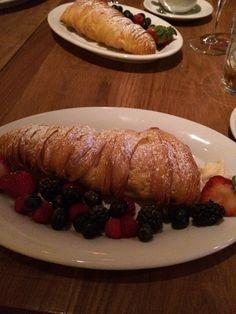 Buddy V's restaurant in LAS VEGAS....Buddy's famous lobster Tails dessert!!! The best!!!!