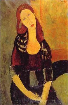 Modigliani é pra mim uma inspiração. Uma mistura com emoção...