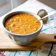 Chicken Quinoa Soup (Crock Pot) » A Full Measure of Happiness