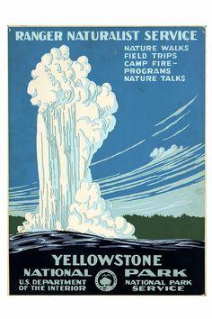 yellowstone about 1935