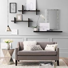 Floating Shelves Are Shelves That Are Designed To Look As If They Are  Floating Against The Walls On Which They Are Fastened. Wall Decor Modular  Shelves ...