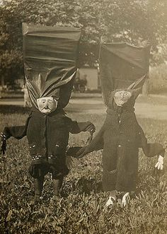 Home-made costumes were better and HALLOWEEN USED TO BE CREEPIER