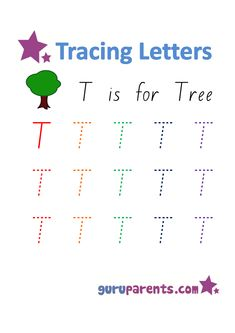 Practice tracing letters with our alphabet worksheets. These worksheets provide preschoolers a great activity to develop their writing skills while reinforcing letter recognition.