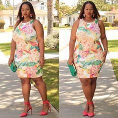 "NEW BLOG POST: ""Full Bloom"". Outfit details on the blog! #trendycurvy #fashiondiaries #ootd #whatiwore #bbbg #cns2 #boldncurvy #flyfashiondoll #allthingsfiery #psblogger #psfashion #celebratemysize"