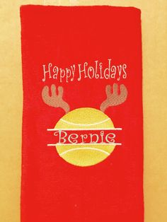 Tennis Gifts - Monogrammed Tennis Towels - Monogram Kitchen Towels - by WomanRevivalMonogram on Etsy https://www.etsy.com/listing/476654847/tennis-gifts-monogrammed-tennis-towels