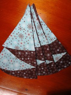 Set of 4.Christmas tree napkins.Size is 18 x by SilkImagination, $11.99