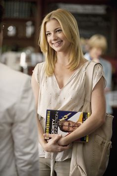 Emily Thorne. Meeting the writer, Mason Treadwell. The man who will write the real story of David Clarke.